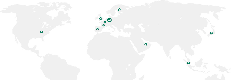 Branches worldmap