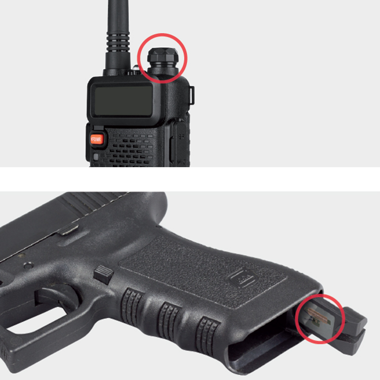 proxSafe Integration weapon and radio
