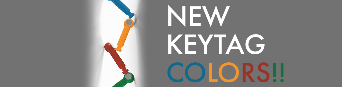 New KeyTag colors Header